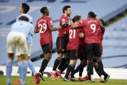 """""""Man Utd"""" nutraukė """"Man City"""" pergalių seriją"""