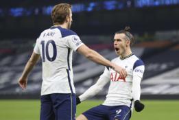 """H. Kane'o ir G. Bale'o vedamas """"Tottenham"""" neturėjo vargo su """"Crystal Palace"""""""