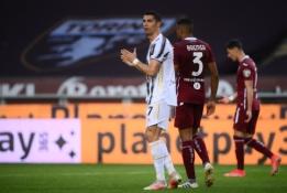 """C.Ronaldo įvartis leido """"Juventus"""" iškovoti tašką"""