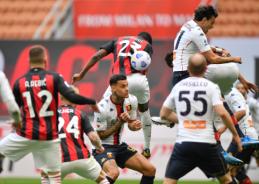 """Milan"" išvargo pergalę prieš ""Genoa"""