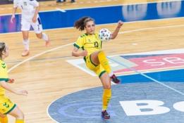 Serbės išsityčiojo iš Lietuvos moterų futsal rinktinės