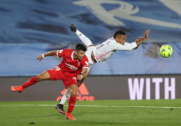 """""""Real"""" paskutinę akimirką išplėšė tašką mače su """"Sevilla"""""""