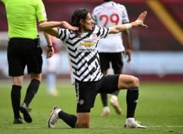 "Oficialu: E. Cavani dar sezonui lieka ""Man Utd"" gretose"