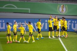 BVB užtikrintai triumfavo Vokietijos taurės finale