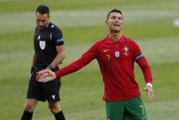 Lietuvos rinktinė – tarp labiausiai nuo C. Ronaldo nukentėjusių ekipų