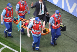 Rusijai atstovaujantis brazilas atsidūrė ligoninėje