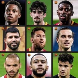 """""""Barcelona"""" puolėjų grandyje – milžiniškas pasirinkimas"""