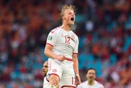 Danija nepaliko vilčių Velsui ir žengė į EURO 2020 ketvirtfinalį