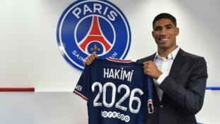 PSG oficialiai pristatė A. Hakimi