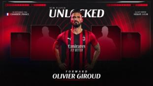"""Oficialu: O. Giroud prisijungė prie """"AC Milan"""" gretų"""