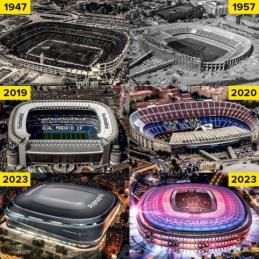 """Pasikeitę """"La Liga"""" grandų stadionai"""