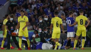 """""""Leicester"""" gynėjas draugiškose rungtynėse patyrė šiurpią traumą"""