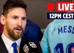 L. Messi spaudos konferencija