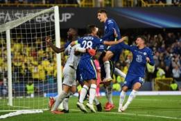 """Chelsea"" iškovojo UEFA Supertaurę"