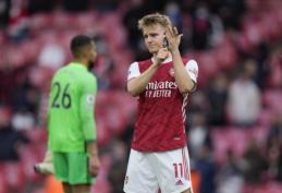 """Oficialu: """"Arsenal"""" įsigijo M. Odegaardą"""