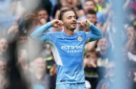 """""""Premier"""" lyga: triuškinama """"Man City"""" pergalė, rezultatyvios lygiosios Lidse ir puikus D. Ingso įvartis"""