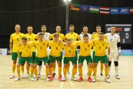 Lietuvos rinktinė pasirengimą pasaulio čempionatui baigė pergalingai