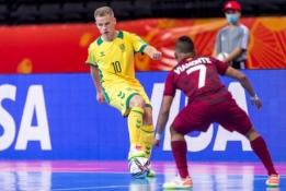 Pasaulio salės futbolo čempionato pirma diena: startas duotas