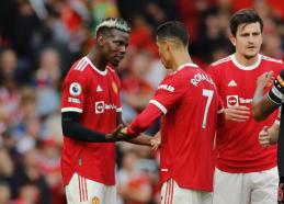 """P. Pogba linksta link naujos sutarties su """"Man Utd"""""""