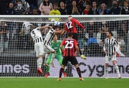 """""""Juventus"""" namuose suklupo prieš traumų praretintą """"AC Milan"""" klubą"""