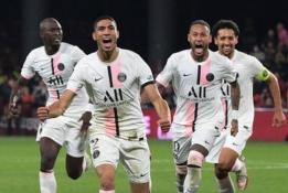 PSG iškovojo dar vieną dramatišką pergalę paskutinėmis minutėmis