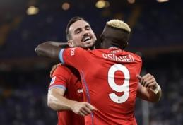 """""""Napoli"""" sutriuškino """"Sampdoria"""" ir pratęsė tobulą sezono startą"""