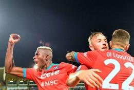 """""""AC Milan"""" įveikė vėlai atsibudusią """"Atalantą"""", """"Napoli"""" pratęsė pergalių seriją"""