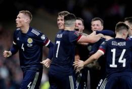 S. McTominay'us išplėšė labai svarbią pergalę Škotijai
