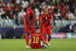 E. Hazardas su R. Lukaku dėl traumų paliko Belgijos rinktinės stovyklą