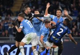 """Į Romą su """"Inter"""" grįžęs S. Inzaghi pripažino """"Lazio"""" pranašumą"""