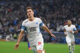 """""""Ligue 1"""" turą užbaigė užtikrinta Marselio """"Olympique"""" pergalė namuose"""