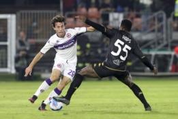 """""""Fiorentina"""" nepasinaudojo šansu pakilti į 5-ąją turnyrinės lentelės vietą"""