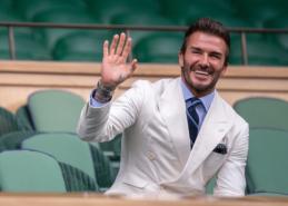 D. Beckhamas priėmė 150 mln. svarų sterlingų pasiūlymą