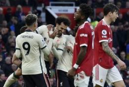 """Solskjaero pabaiga? """"Man Utd"""" savo žiūrovų akivaizdoje buvo pažeminti """"Liverpool"""" futbolininkų"""