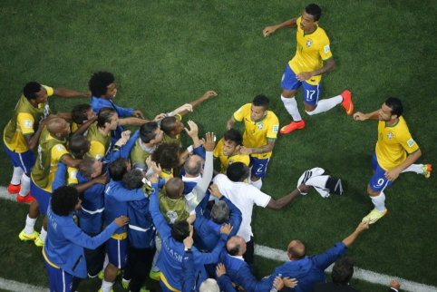 Pasaulio čempionato starte - Neymaro dublis ir apmaudus kroatų pralaimėjimas (FOTO, VIDEO)