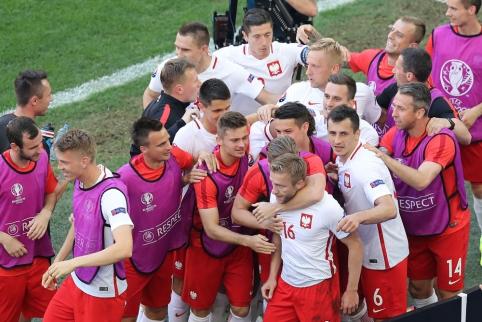 C grupė: beviltiškų ukrainiečių žygis baigėsi pralaimėjimu lenkams (FOTO, VIDEO)