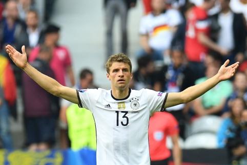 Vokietijos volas nepaliko vilčių slovakams (FOTO, VIDEO)