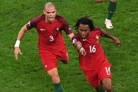 Pirmąja Europos čempionato pusfinalio dalyve tapo Portugalija (FOTO, VIDEO)