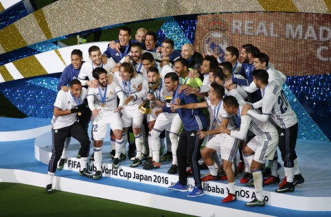 """C. Ronaldo atvedė """"Real"""" į triumfą FIFA pasaulio klubų taurės finale (VIDEO, FOTO)"""
