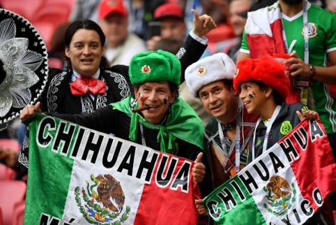 Meksika įveikė šeimininkus bei žais Konfederacijų taurės pusfinalyje (FOTO, VIDEO)