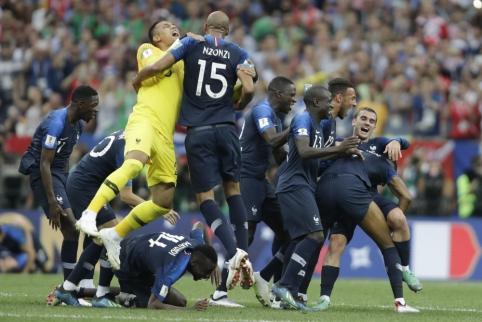 PČ finalas: Prancūzija - Kroatija