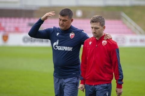"""Sūduvos"" - ""Crvena Zvezda"" mūšio belaukiant"