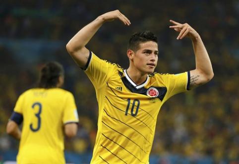 """""""Man Utd"""" galėjo įsigyti J.Rodriguezą už 5 mln. svarų, tačiau pasirinko Bebę"""