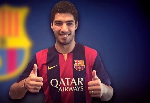 """""""Barcelona"""" yra arti tikslo, kad būtų panaikinta bausmė L.Suarezui"""