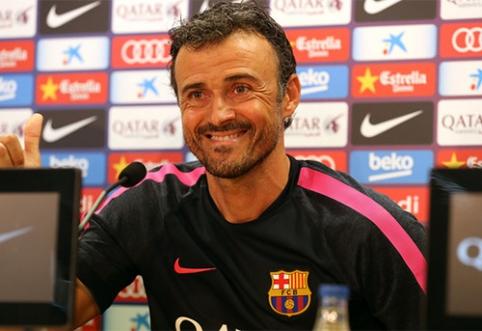 """Suformuotas """"Barcelona"""" trenerių štabas"""