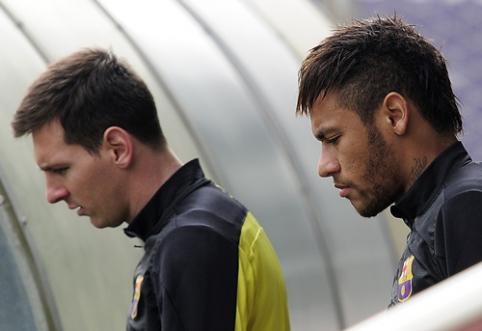 Neymaras: L.Messi nusipelno laimėti pasaulio čempionatą