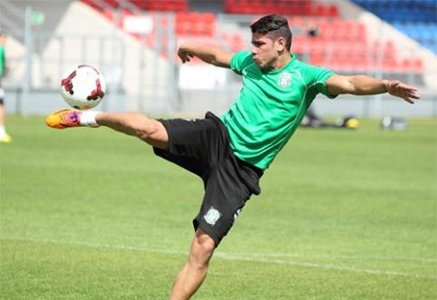 """""""Žalgirio"""" naujoko Adi optimizmas: """"Galime įveikti """"Dinamo"""" (VIDEO)"""