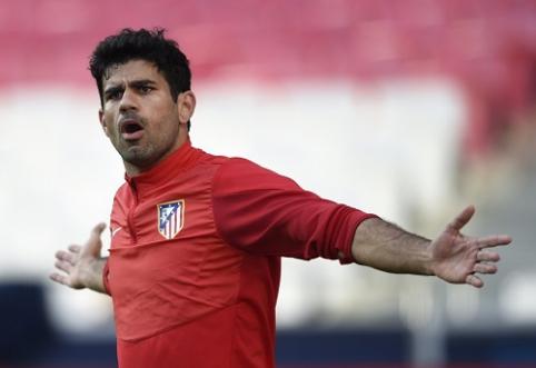 """D. Costa paprašė leidimo palikti """"Atletico"""""""