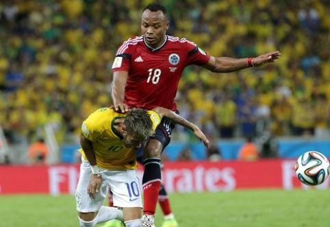 Kolumbietis reikalauja milijardo eurų iš FIFA už sukeltą stresą pasaulio čempionato metu