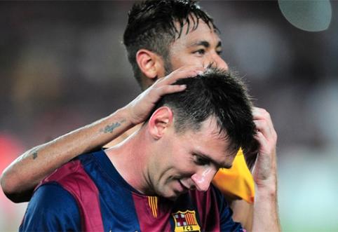 """Vasarą """"Barcelona"""" atmetė įspūdingą """"Chelsea"""" pasiūlymą už L.Messi"""